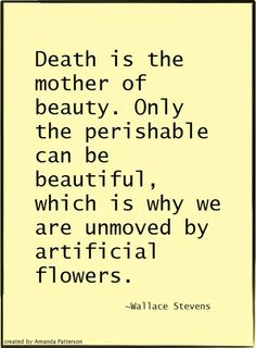 Quotable - Wallace Stevens
