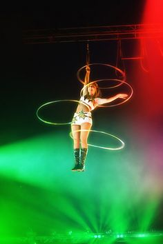 Aerial hooping; SO awesome!