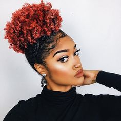 How to Trim Natural Hair (Curly Nikki) Dyed Natural Hair, Pelo Natural, Natural Hair Tips, Natural Hair Inspiration, Natural Hair Journey, Dyed Hair, Natural Hair Styles, Natural Life, Natural Makeup