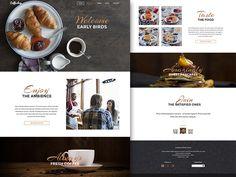 Coffe shop Homepage