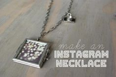 Make a locket necklace. And other ways to bring Instagrams to life (Buzzfeed)