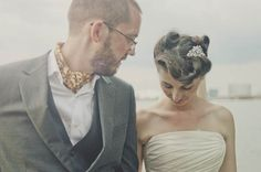 An Eclectic, Voodoo, Junk Shop Thrifty Wedding on http://whimsicalwonderlandweddings.com