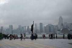 Chinas bolliwood walk of fame Hong Kong