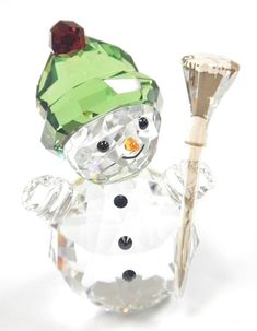 0e5c7c9d6 SNOWMAN WITH BROOM STICK CHRISTMAS HOLIDAY 2018 SWAROVSKI CRYSTAL 5393460  #christmasdecorations Christmas Holidays 2018,