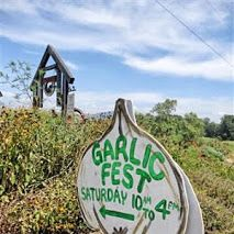 Garlic Fest at Loganberry Farm in Cleveland, Georgia.