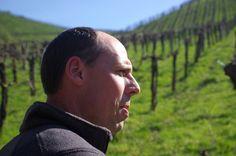 A character, like his wines: Ewald Tscheppe. Mind behind of Werlitsch wines. Steiermark, Austria