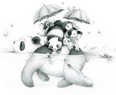 """illustration proposée pour le projet """"Des images pour le Japon"""" pour Emmanuelle Collin"""