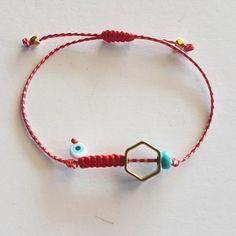 Little Presents, Jewelry Bracelets, Leather Bracelets, Evil Eye Bracelet, Jewerly, Diy And Crafts, Personalized Items, My Favorite Things, Scarfs