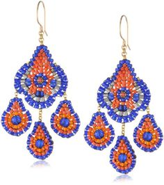 Miguel Ases Blue Hydo-Quartz and Orange Miyuki Bead Small Chandelier Earrings Miguel Ases http://www.amazon.com/dp/B00BBVCTK6/ref=cm_sw_r_pi_dp_xYJ3tb0BNBFNMYHQ