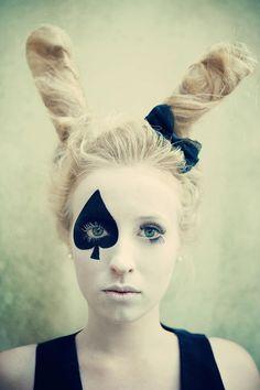 Alice im Wunderland-Kaninchen...