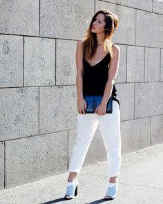YSL Balenciaga Street Style on Friend in Fashion www.friendinfashion.blogspot.com