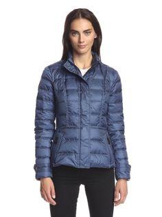 BURBERRY Puffer Jacket Steel Blue