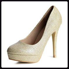 Buffalo Boots GmbH H733 C002A 4 GOLD Größe 39 Glitter Gold