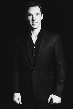 Benedict Cumberbatch: class, style, elegance, posture, voice, talent, humor... All of it, all of it. So sexy.