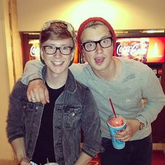 Tyler Oakley and Marcus Butler!