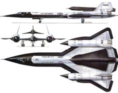 Sr71 holding aircraft
