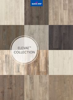 Stylish laminate flooring inspired by the look of European Oak and pine worn by the elements.