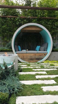 Fresh Gardens for those Who Love Gardens : (Lots! of) Images of Inspiration from MIFGS 2015 - DIY Garten Landschaftsbau Love Garden, Dream Garden, Garden Art, Home And Garden, Garden Modern, Garden Nook, Contemporary Garden, Easy Garden, Garden Hideaway Ideas