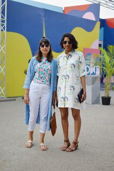 Street Style Amazon India Fashion Week Autumn-Winter 2016