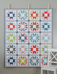 Skipper Quilt Pattern | Craftsy. A fat quarter pattern that includes measurements and instructions for creating four different sizes of quilts (crib, throw, twin, queen). Pattern includes detailed, easy-to-follow diagrams and instructions for cutting,