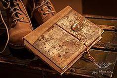 Papiernictvo - Exclusive Travel Life Diary/ na zákazku / custom made :) - Diáre s vlasntou dušou & príbehom z mojej tvorby :) Diaries with own soul & story sell by me :)