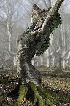 human ingen, statue, from c.e.
