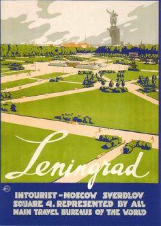 soviet - Leningrad -poster