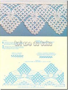 Häkelborte - Häkelspitze - crochet edging barra