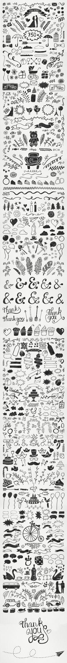 'Tis the season: Wedding & Party Watercolour Bundle