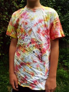Pizza Shirt Pizza Lovers Gift from Anything on a Tie Dye at CreationsbyMaris https://www.etsy.com/listing/224836695/pizza-shirt-pizza-lovers-gift-pizza