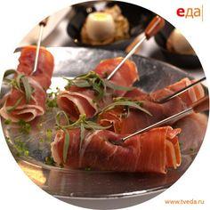 Рецепт. Рулеты с морепродуктами