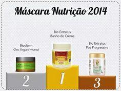 Eleito 2014 - Máscara de Nutrição Low Poo