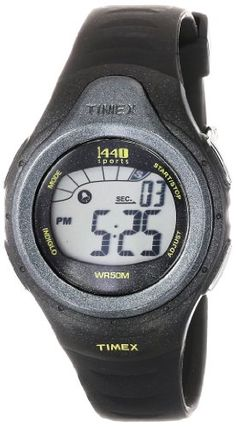 Timex Unisex T5K242 1440 Sports Digital Sport Black Resin Strap Watch >>> You can find out more details at the link of the image.Note:It is affiliate link to Amazon.