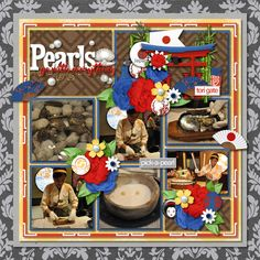Pearls Go With Everything Credits: Tinci Designs - Captured Moments 6 - Template 3 Passport To Japan, Passport To Japan Page Starters, and Passport To Japan Word Flairs by Kellybell Designs Devita Font