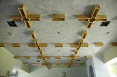 How to: Coffered Ceiling