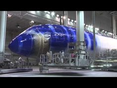 Painting the ANA Starwars R2D2 Boeing 787 Dreamliner. Star Wars livery