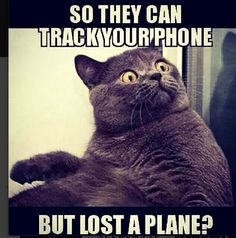 How can they lose a plane?