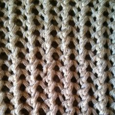 Ribbed Mesh Stitch - Purl Avenue