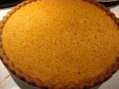 Deep Fried Kudzu: Buttermilk Pumpkin Pie