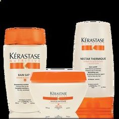 Kerastase Nutritive System. My absolute favorite hair products!!