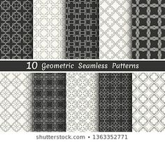 Similar Images, Stock Photos & Vectors of Triangle geometric vector pattern,pattern fills, web page, background, surface and textures - 708272218 | Shutterstock Geometric Patterns, Geometric Tattoo Pattern, Line Background, Banners, Black And White Lines, Vector Pattern, Wallpaper, Printing On Fabric, Triangle