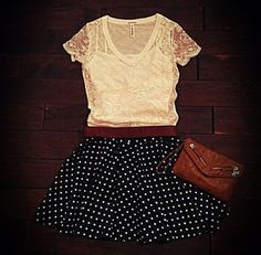 This Aeropostale outfit is OMG no words except love it just wish i had more skirts so i could wear stuff like this