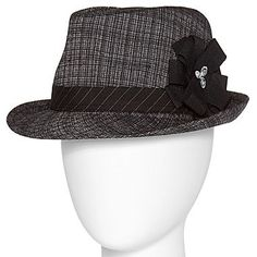 Fedora with Flower - jcpenney