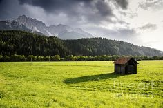 Alone in the austrian countryside