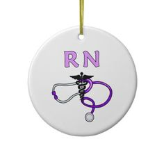 RN Stethoscope Ornaments
