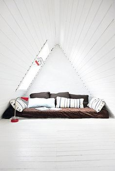A great use of an attic.