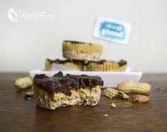 Glutefritt og sukkerfritt sjokoladesnop: Peanutbuttercup proteinbarer!