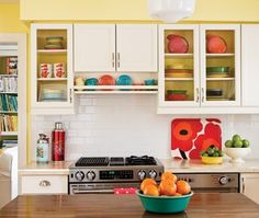 I already have the Fiesta... I just need the kitchen and cabinets to display it all in! Of course, all my Fiesta is antique so the colors are way more retro...