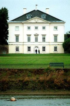 The view from Marble Hill House, [an example of Palladian architecture] to the River Thames has been restored to the vista enjoyed by Henrietta Howard, mistress to George II, in the 18th Century.