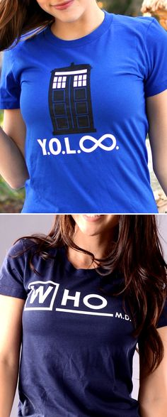 "Get used to hearing, ""Where'd you get that shirt? I love it!"" ""YOL Infinity"" and ""Who MD"" graphic t-shirt for men, women and kids. Whether you're looking to upgrade your t-shirt collection or need a clever gift for someone special, SnorgTees is a must."